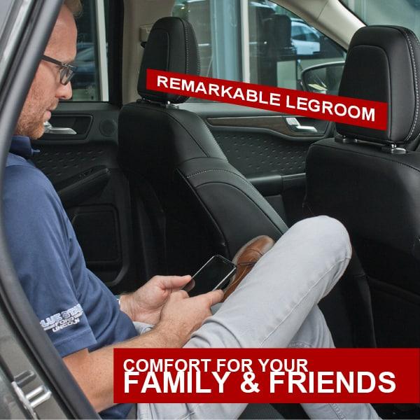 ford escape legroom