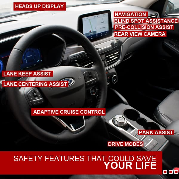 ford escape safety